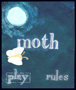 """Moth"" cell phone game"