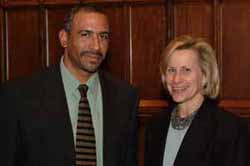 Pedro Noguera and Laurie Tisch Sussman