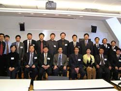 Participants at seminar co-sponsored by the Center on Chinese Education at TC