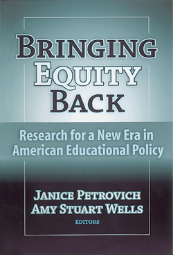 Bringing Equity Back