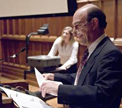 Tisch Lecturer Richard Rothstein