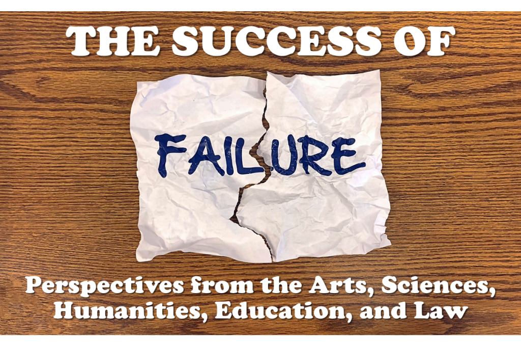 """The Success of Failure: Perspectives from the Arts, Sciences, Humanities, Education, and Law"" will take place at Teachers College on Thursday, December 7th, from 9 a.m. to 5:15 p.m., and Friday, December 8th, from 9 a.m. to 4:30 p.m., in the Joyce B. Cowin Auditorium, at West 120th Street and Broadway."