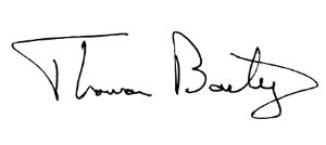 Tom Bailey Signature