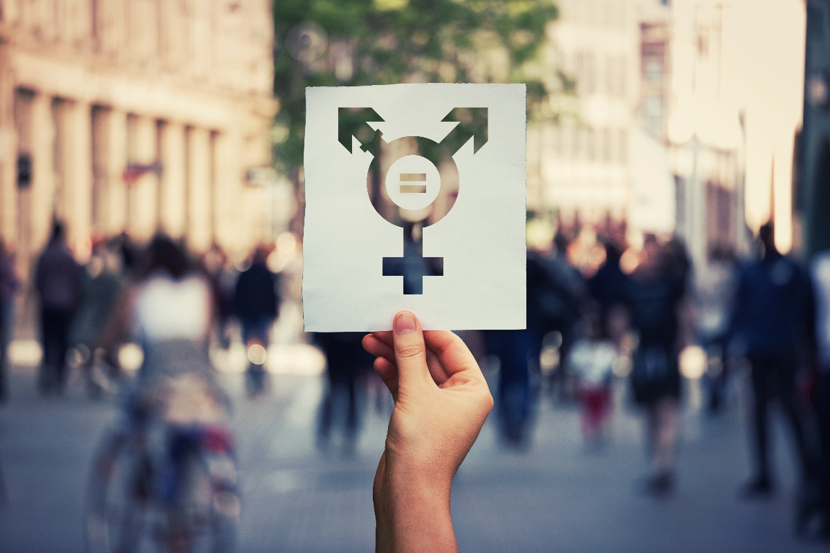 Stock Image of Transgender Symbol