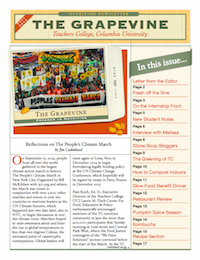 Fall 2014 - Newsletter