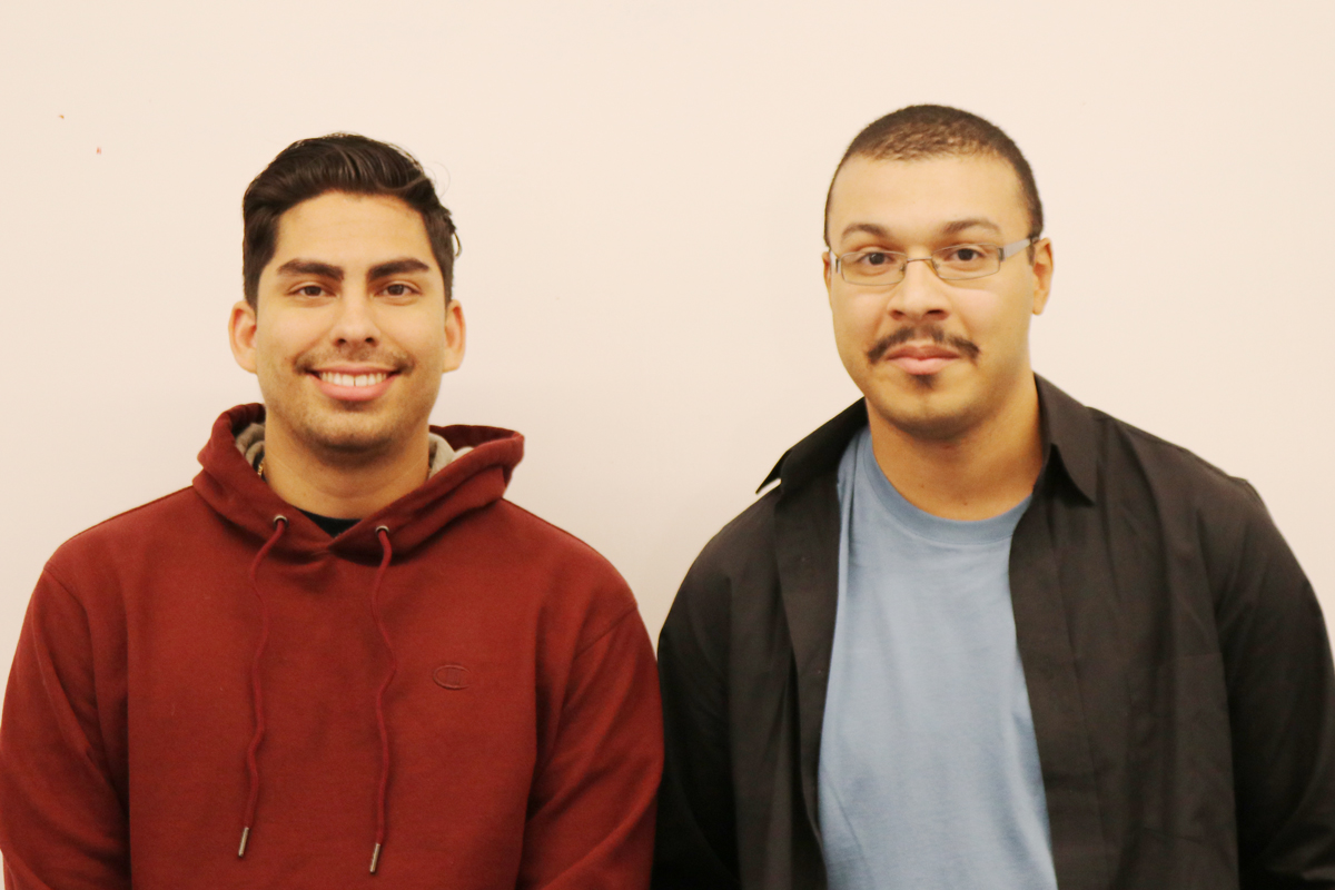 Carlos Ortiz and Angel Vega are recipients of James L. Neff Scholarships.