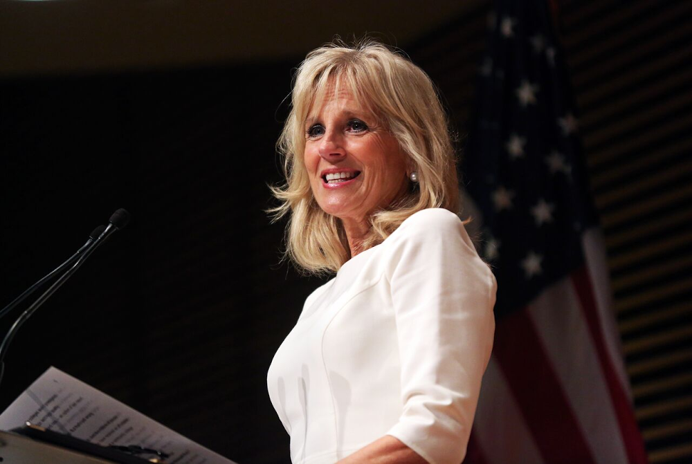 Jill Biden, Professor of English at Northern Virginia Community College and the Second Lady of the United States, was the keynote speaker at the 20th Anniversary Celebration of the Community College Research Center (CCRC) at Teachers College.