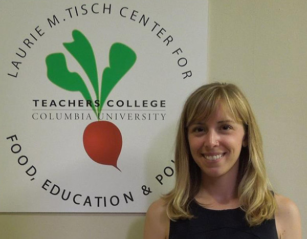 Camille Veri former Policy Intern at the Laurie M. Tisch Center for Food, Education & Policy at Teachers College.