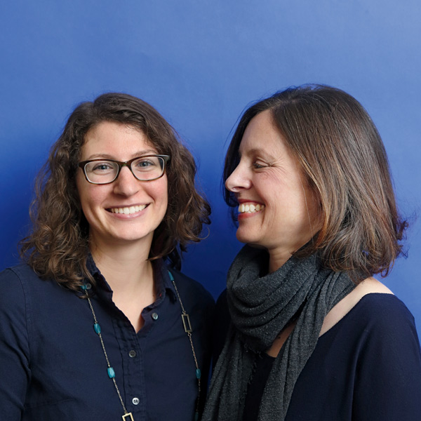 Doctoral Student Carrie Russo and Randi Wolf, Associate Professor of Human Nutrition