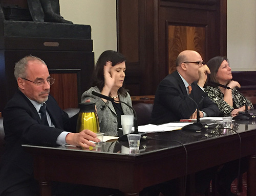 Kelly Parkes, Associate Professor of Music and Music Education, testified to the New York City Council's Committee on Education on January 24
