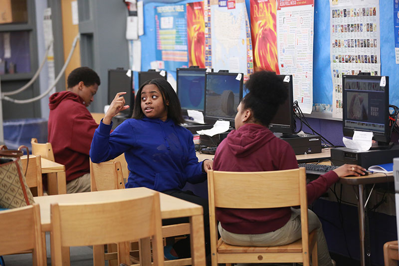 TREATING STUDENTS AS SCHOLARS Other courses reference African-American arts, food, music and culture. This one challenges students to seek and use information.