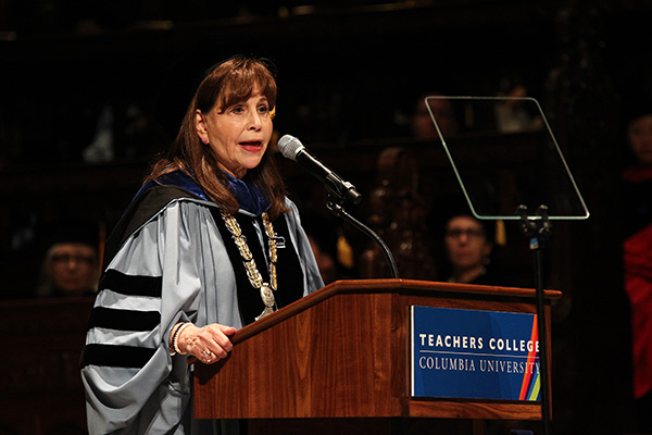 """TRANSLATE THE EVIDENCE"" Fuhrman told graduates that they will be the spokespeople for a wealth of new research that will have"