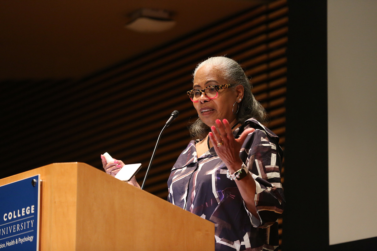 Gordon Lecturer Gloria Ladson-Billings