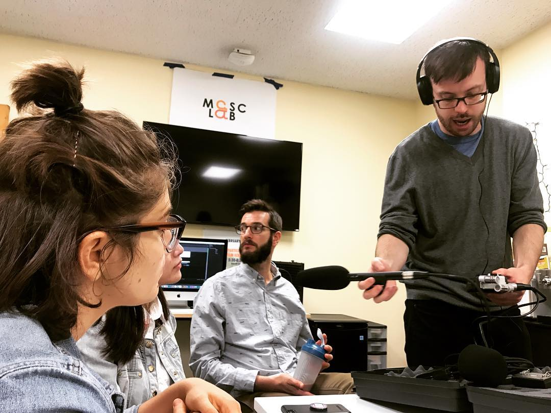 MASClab Recording a Podcast