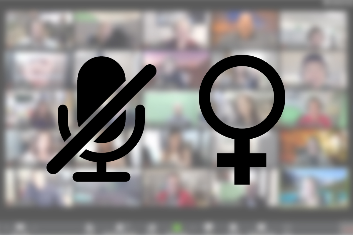 Zoom, Muting and Gender
