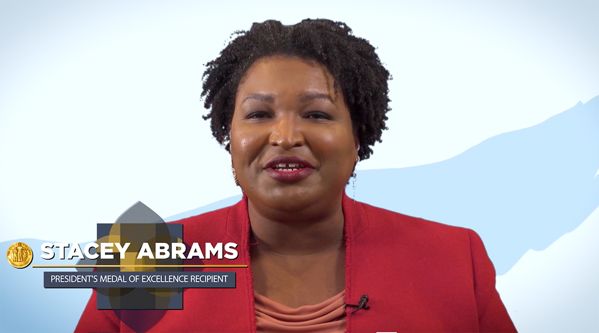 Stacey Abrams Video Still