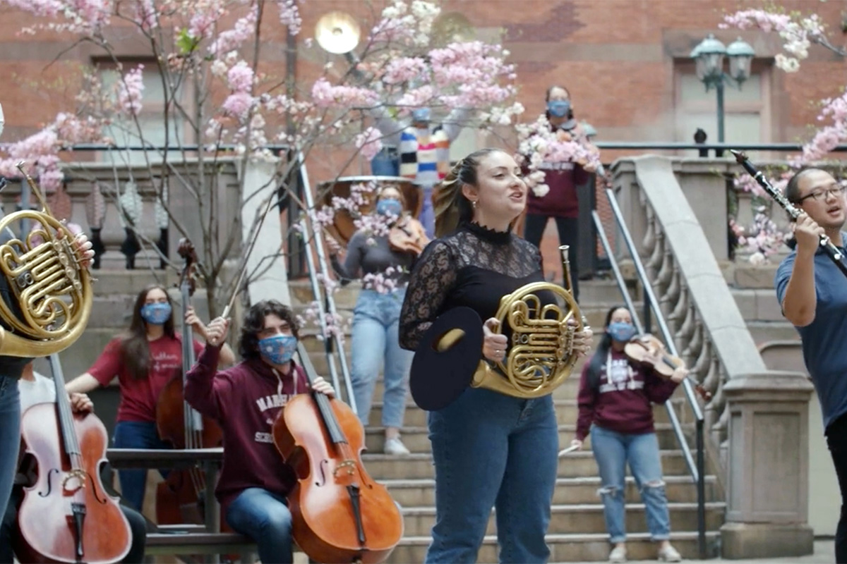 MSM and TC Orchestra in Russell Courtyard