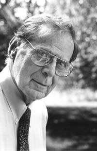 Morton Deutsch, E.L. Thorndike Professor Emeritus of Psychology & Education (Photo: TC Archives)
