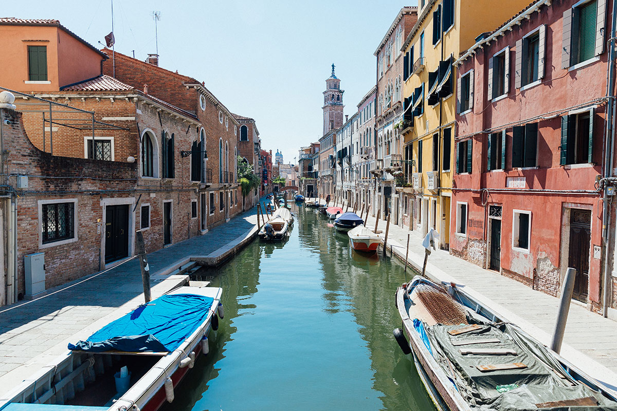 iStock image of Venice Italy canals