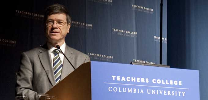 Jeffrey Sachs at TC Academic Festival 2012
